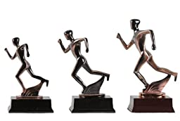 Abstract Copper Track Runner (M)figurine (Free Shipping)