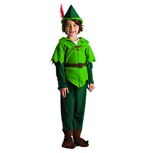 Peter Pan Costume - Size Toddler 4 (Peter Pan Toddler Costume compare prices)