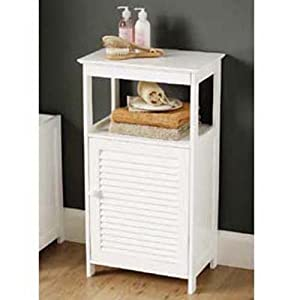 bumble shutter badschrank badregal weiss. Black Bedroom Furniture Sets. Home Design Ideas