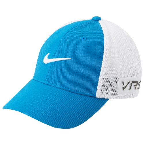 6d4e97d59a5eab Nike GOLF TOUR FLEX-FIT CAP new logo MILITARY BLUE/WHITE M/L ...