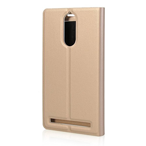 best sneakers 1c443 cf016 Lenovo Vibe K5 Note, Flip Cover For Lenovo Vibe K5 Note-GOLD