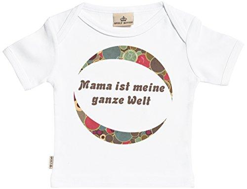 mama ist meine ganze welt baby t shirt baby shirts baby geschenk in milcht te wei 6 12. Black Bedroom Furniture Sets. Home Design Ideas