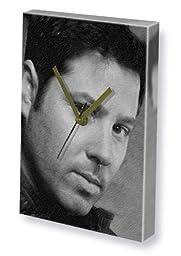 GREG GRUNBERG - Canvas Clock (A4 - Signed by the Artist) #js001