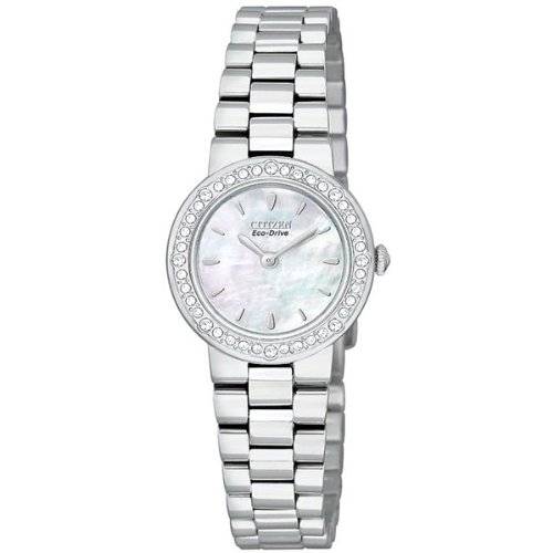 Citizen Women s EW9820-54D Eco-Drive Silhouette Crystal Stainless Steel  Watch 6686c8e1f