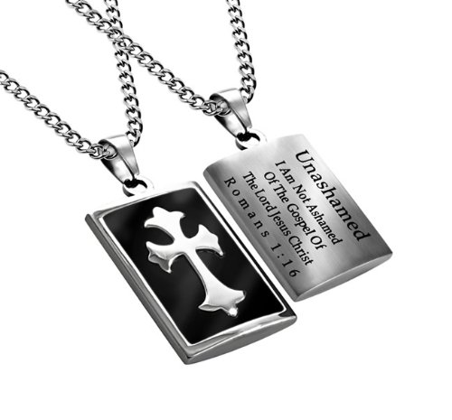 Christian Mens Stainless Steel Abstinence