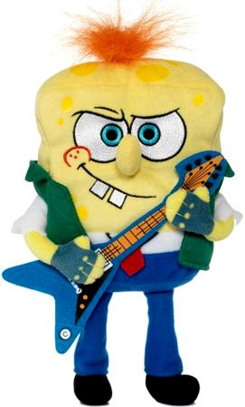 Buy Low Price Jakks Pacific SpongeBob Squarepants 6 Inch Plush Figure RockerBob PunkPants (B002OCXOLY)