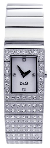 D & G DW0330 Ladies 'Scotland' Stainless Steel Bracelet With Stones Watch