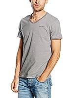 PAUL STRAGAS Camiseta Manga Corta (Gris)