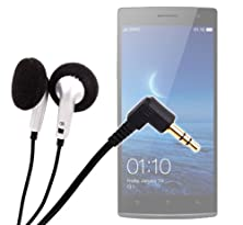 buy Duragadget In-Ear Headphones With Passive Noise Cancelling For Oppo Find 7, Oppo Find 7A & Oppo N1 Mini