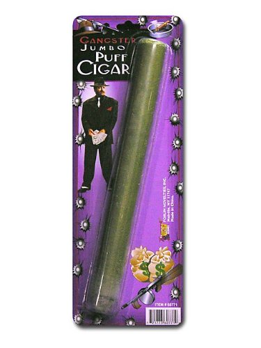 Gangster Jumbo Fake Cigar Accessory - 1