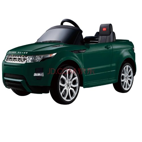 Licensed By Range Rover Kids Green Range Rover Evoque Ride On Car Toy With Remote Control