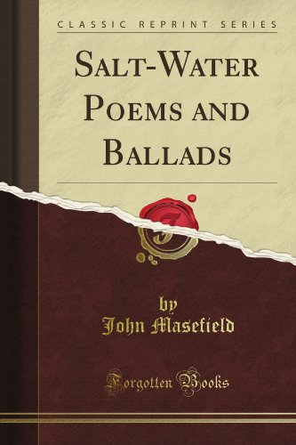 Salt-Water Poems and Ballads (Classic Reprint) (Salt Water Poems compare prices)