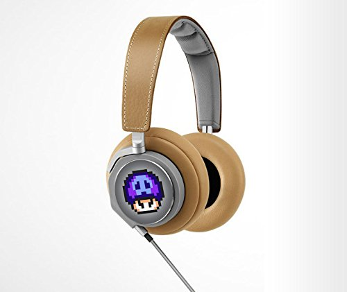 Retro 8-Bit Poison Mushroom Decal From Super Mario Brothers For Bang And Olufsen (Headphones Not Included)