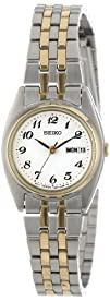 Seiko Womens SXA124 Functional Two-Tone Stainless Steel Watch