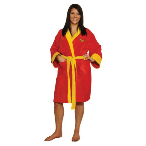 DC Comics Wonder Woman Cotton Bathrobe