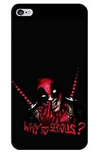 iessential joker batman Designer Printed Back Case Cover for Apple iPhone 6 Plus
