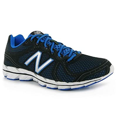 New Balance 590 v2 Wide Mens Running Shoes[11,Black/Blue