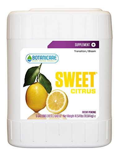 Botanicare Bcnsswc5 5-Gallon Botanicare Sweet Carbo Citrus Supplement For Plants