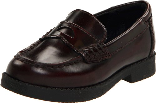 Kenneth Cole Reaction Loaf-Er 2 Penny Loafer (Toddler/Little Kid),Burgundy,9 M Us Toddler front-1036744