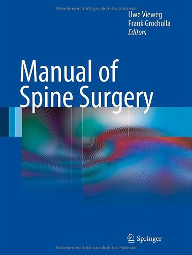 Manual Of Spine Surgery