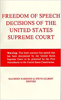 the first amendment and freedom of speech in the united states Home » first amendment library » freedom of speech & expression while not unlimited, this right is broader in the united states than in any other country.