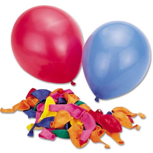 Perfect Products Co Latex Balloons, 9-Inch (Pack Of 50) - 1