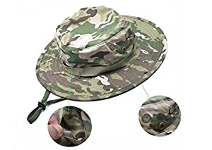 Liroyal Tactical Head Wear/Boonie Hat Cap For Wargame,Sports,Fishing Other Outdoor Activties