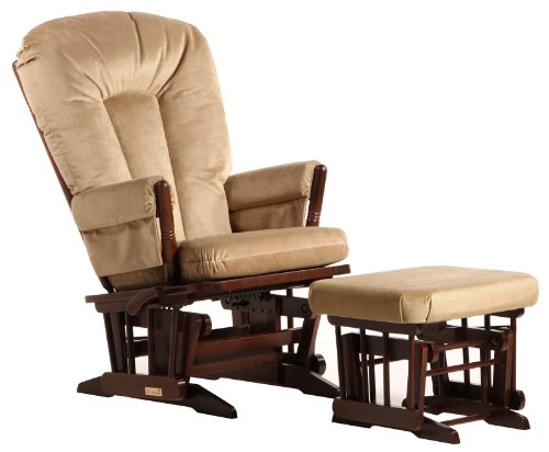 Baby Glider And Ottoman front-116817