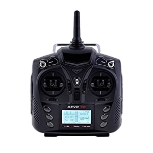 Neewer® Devo 7E Transmitter, 7 Channel with LCD Display Screen for Walkera Super CP RC Helicopter