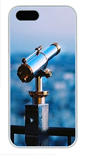 Iphone 5 5S Case Astronomical Telescope Pc Custom Iphone 5 5S Case Cover White
