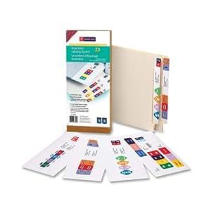 Smead Smartstrip Labeling System, Started Kit, End Tab Labels, Ink-Jet Printers (66000)