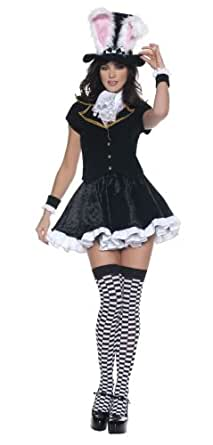 Alice in Wonderland-Totally Mad Rabbit Adult Costume