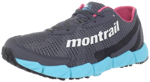 Montrail Women's Fluidflex Trail Running Shoe,Coal/Sea Salt,7.5 M US