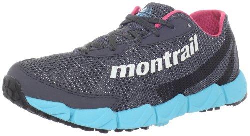 Montrail Women's Fluidflex Trail Running Shoe,Coal/Sea Salt,7.5 M US