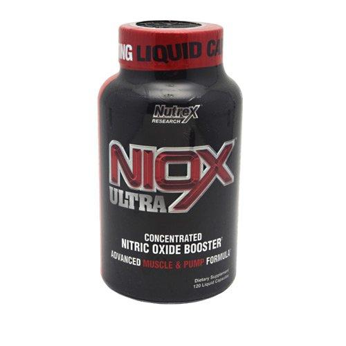 Nutrex Research - Niox Ultra, , 120 Liquid Gel Capsules