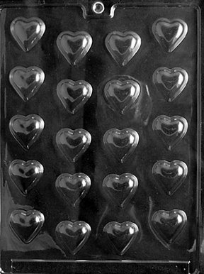 BITE SIZE HEARTS Valentine Candy Mold chocolate
