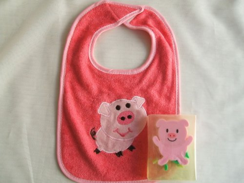 Baby Bib Pig and Soap