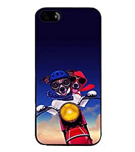 printtech Cartoon Ant Bee Back Case Cover for Apple iPhone 5S