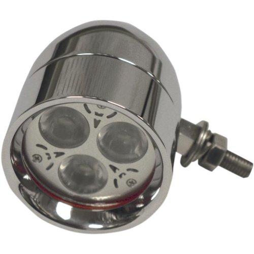 Custom Dynamics Cool Magic Billet Bullet Led Driving Lights Cmbb-C
