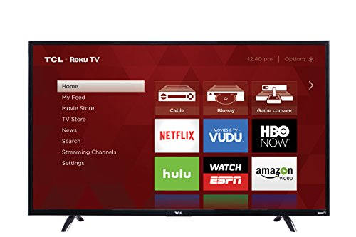 Lowest Price! TCL 50UP130 50-Inch 4K Ultra HD Roku Smart LED TV (2016 Model)