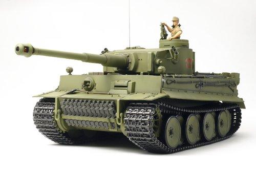 Tamiya 1/16 RC Tank German Tiger I Early Production Model Kit
