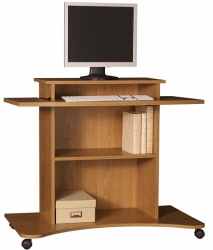 Buy Low Price Comfortable Ameriwood Computer Cart, Apple Tree (B002QUZZMA)