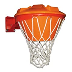 Buy Basketball Block-Aid Rebounder Training Aid FT23 ORANGE SITS ON RIM TOP by First Team