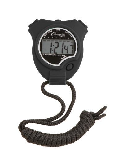 Champion Sports Stopwatch (Champion Digital Watch compare prices)