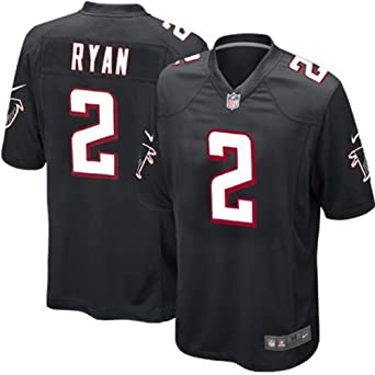 Nike NFL Youth Atlanta Falcons MATT RYAN # 2 Game Jersey, Black by Nike