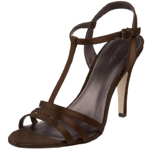 Calvin Klein Women's Rudie T-strap Sandal