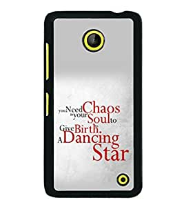 printtech Cool Quotes Dance Back Case Cover for Nokia Lumia 630 3G
