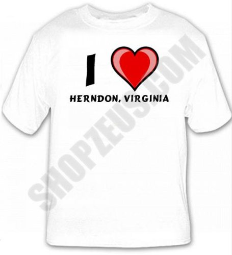 I Love Herndon, Virginia T-shirt