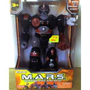 M.A.R.S. Motorized Attack Robo Squad - Black Robot