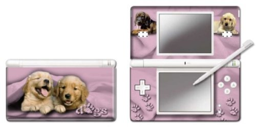 Pebble Entertainment Pink Dogs Graphic Skin for DS Lite (Nintendo DS)